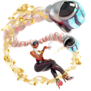 Switch ARMS characterart 06