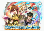 Fire Emblem Heroes - Summoning Banner - Alm's Army