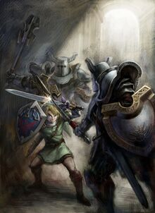 Link vs Darknuts - The Legend of Zelda Twilight Princess