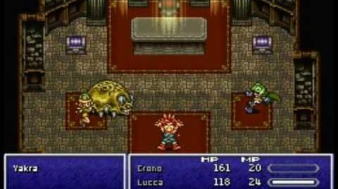 Chrono Trigger DS - Boss 1 Yakra
