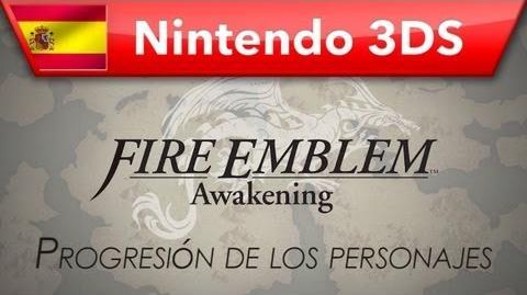 Fire Emblem Awakening - (Nintendo 3DS) - Progresión de los personajes