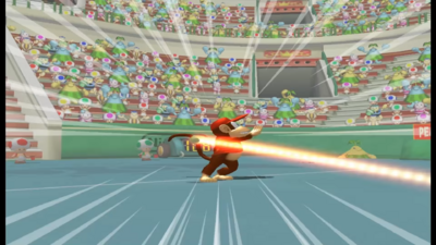 Mario Power Tennis All Power Shots Special Moves 2-33 screenshot