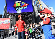 Super Mario Odyssey Tour Kick Off Event Photo 1