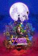 The Legend of Zelda Majora's Mask 3D - Artwork 01