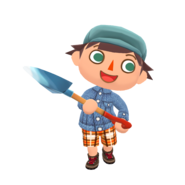 Animal Crossing - Pocket Camp - Character Artwork - Player - Boy 03
