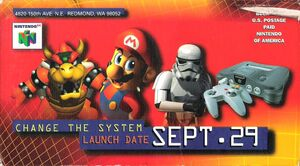 Nintendo 64 promotional video cover