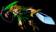 The Legend of Zelda Majora's Mask 3D - Character artwork 02