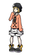 The World Ends with You Final Remix - Character Art - Rhyme 5