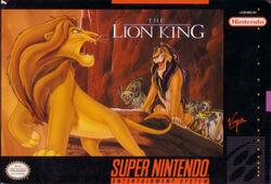 The Lion King SNES (NA)