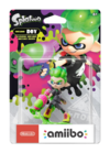 Amiibo - Splatoon - Inkling Boy - Neon Green - Box