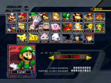 List of Super Smash Bros. Melee characters