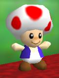 Toad Model - Super Mario 64