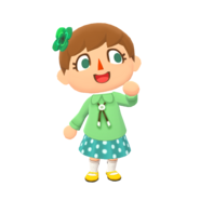 Animal Crossing - Pocket Camp - Character Artwork - Player - Girl 02