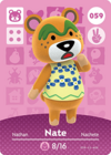 Animal Crossing Amiibo Card 059