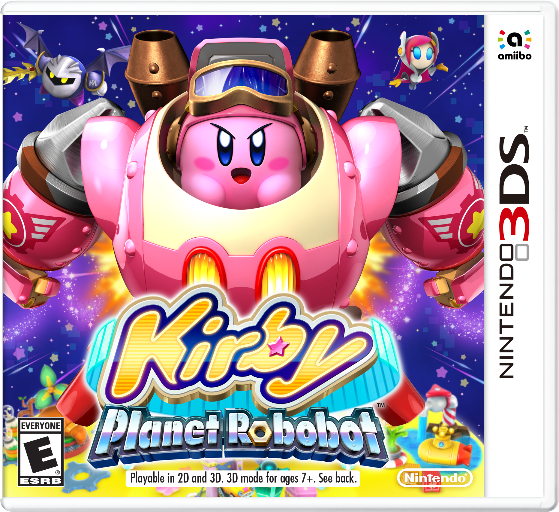 Image result for kirby planet robobot box art
