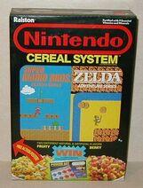 Céréales Nintendo