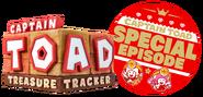 Captain Toad Treasure Tracker Special Episode logo