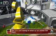 De Blob 2 Inkies Break Up Protest