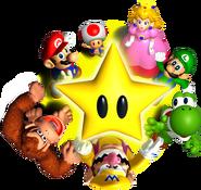 Star Group Artwork - Mario Party