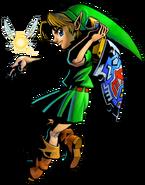 The Legend of Zelda Majora's Mask 3D - Character artwork 05