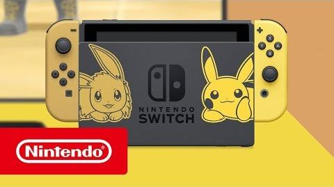 Nintendo Switch edición Pikachu e Eevee - Tráiler