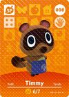 Animal Crossing Amiibo Card Timmy