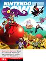 Shantae & The Pirate's Curse on Nintendo Power November 2012 Cover