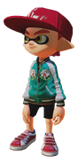 Splatoon - SatinJacket Cap