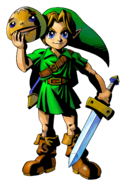 The Legend of Zelda Majora's Mask 3D - Character artwork 01