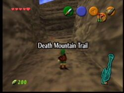 Death mountain ootime