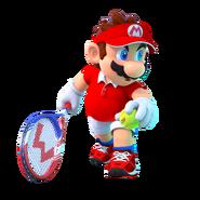 Mario Tennis Aces - Character Artwork - Mario 01