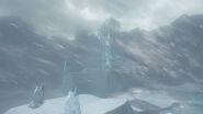 Super Mario Odyssey - Background Artwork - Snow Kingdom