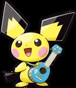 Ukulele Pichu (Pokémon Ranger Guardian Signs)