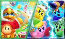 43 - Puzzle Swap - Kirby Fighters Deluxe-Dedede's Drum Dash Deluxe