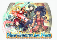 Fire Emblem Heroes - Summoning Banner - The Sacred World