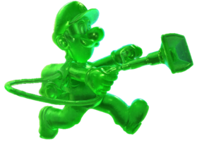 Gooigi - Luigi's Mansion 3 art