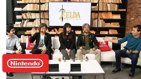 The Legend of Zelda Breath of the Wild – Nintendo Treehouse Live with Nintendo Switch