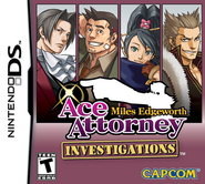 Ace Attorney Investigations Miles Edgeworth (NA)