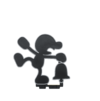 Amiibo - SSB - Mr. Game & Watch - 3