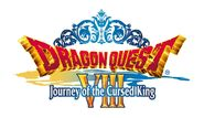 Dragon Quest VIII Journey of the Cursed King Logo (NA)
