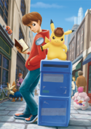 Great Detective Pikachu Birth of a New Duo artwork