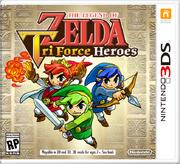 The Legend of Zelda Tri Force Heroes box art