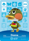 Animal Crossing Amiibo Card 054
