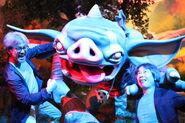 E3 wiiu zbotw illustration photo nintendoe3booth mraonuma-mrmiyamoto