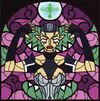 Impa stained glass