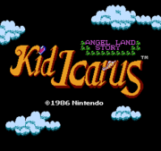 Title Screen - Kid Icarus