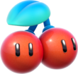Double Cherry Artwork - Super Mario 3D World