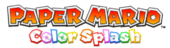 Paper Mario Color Splash logo