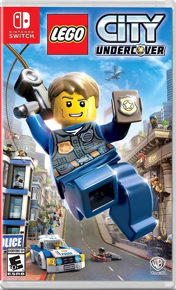 Caratula de LEGO City Undercover para Nintendo Switch