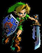 The Legend of Zelda Majora's Mask 3D - Character artwork 04